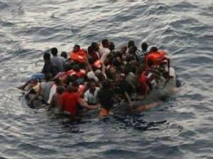 Chantagebootvluchtelingen