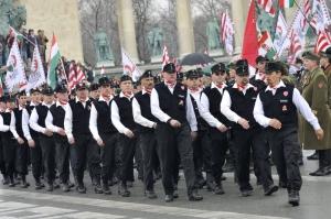 Jobbik marcheert